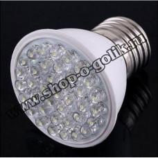 Светодиодная лампа 1.9Вт 220В E27 38 светодиодов