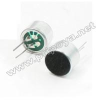 Микрофон EM-9767(p) с выводами, d=9.7mm,h=6.7mm