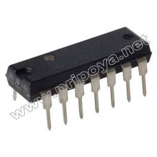 TDA1085CG, Универсальный контроллер скорости двигателя, DIP-16