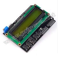 1602 LCD Keypad Shield, ЖКИ-дисплей 16 х 2 с клавиатурой для Arduino проектов